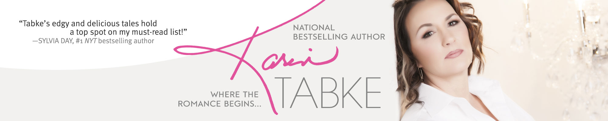 Karin Tabke | National Bestselling Author